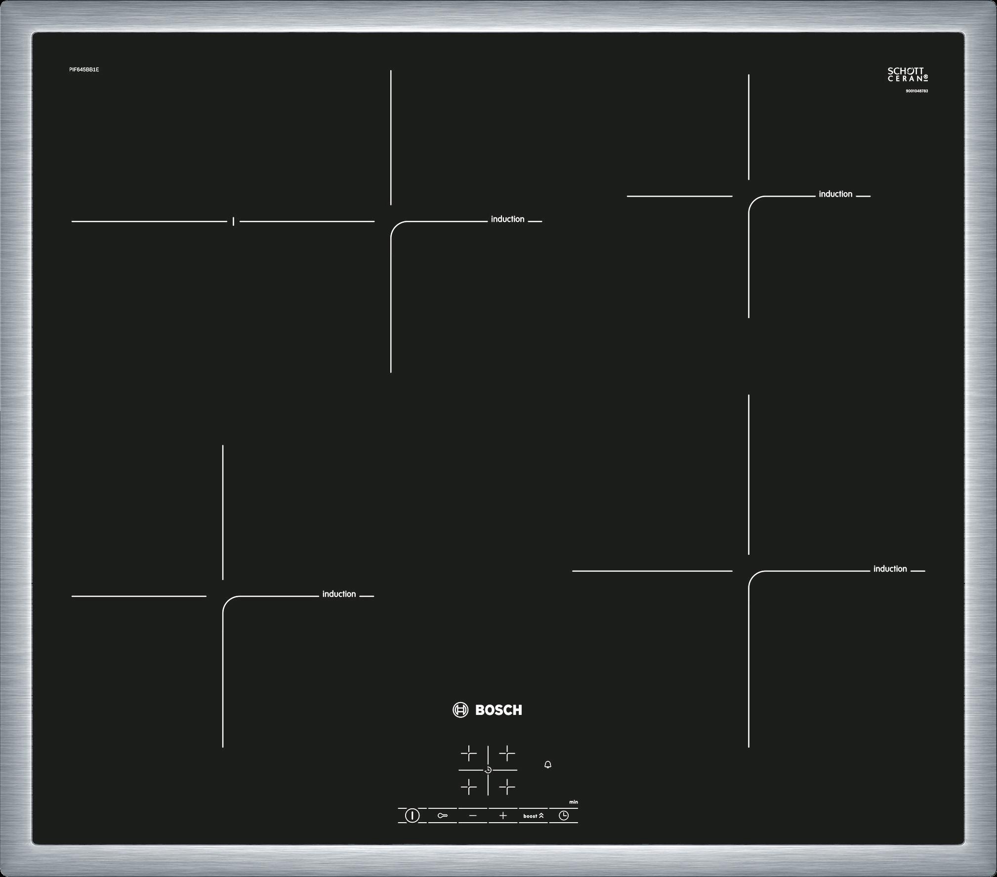 Bosch Inductiekookplaat PIF645BB1E